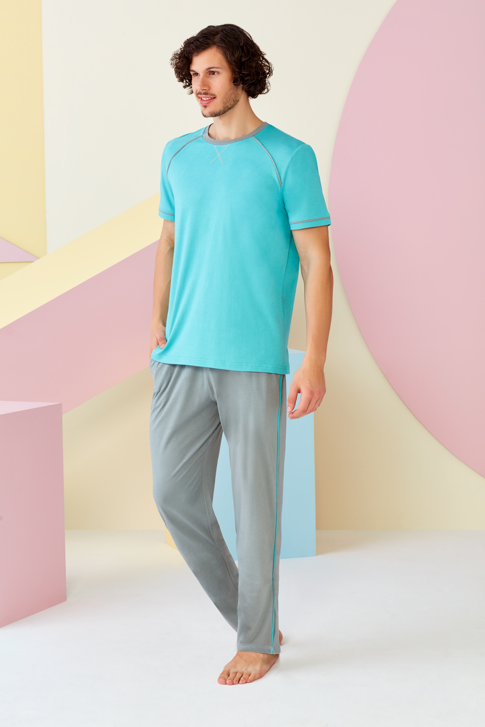 4504 - Top & Pants Set
